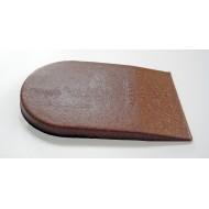 Hard Slim Cork/Rubber Heel Elevator 6 mm